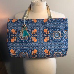 NWT Disney Aladdin Jasmine Print Handbag